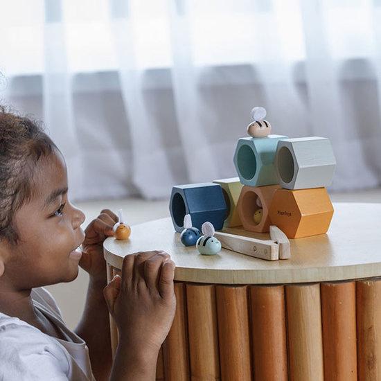 Plan Toys Plan Toys beehive Orchard sorting game +3 yrs