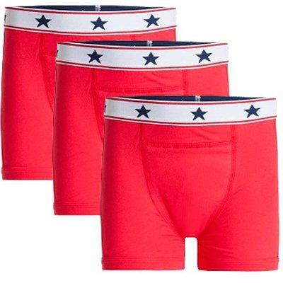 UnderWunder Boxershorts Rot (Preis für 3)