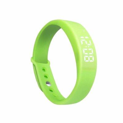Erinnerungs Uhr grün