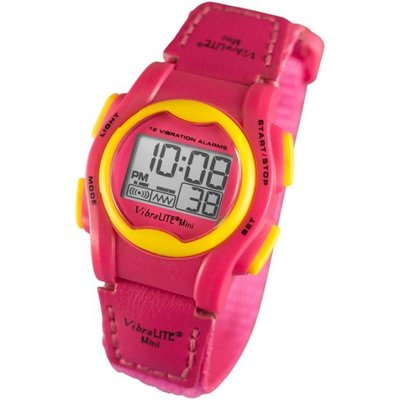 Vibra Lite Alarm-Uhr Mini Vibra Lite 12 rosa