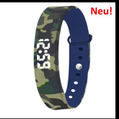Alarm-Uhr U15 blau-tarnfarbe