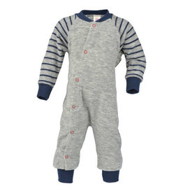 Engel Engel - Einteiliger Schlafanzug/Pyjama ohne Fuß, Frottee - IVN zertifiziert, GOTS