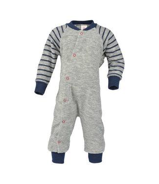 Engel Natur Engel - Einteiliger Schlafanzug/Pyjama ohne Fuß, Frottee - IVN zertifiziert, GOTS