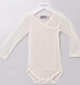 alkena Alkena Langarm Baby Wickelbody aus 100% BioSeide  (Seidenjersey) - natur