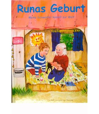 Spillmann Runas Geburt (Bilderbuch) - Hausgeburt