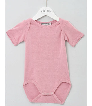 Alkena Alkena - Body kurzarm rosa - Bouretteseide