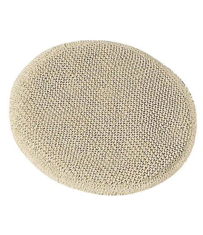 Engel Natur Coussinets d'allaitement, 2 plis - 1 pli 100% laine biologique / 1 pli 100% soie, tricot gauche / gauche, 2 paires