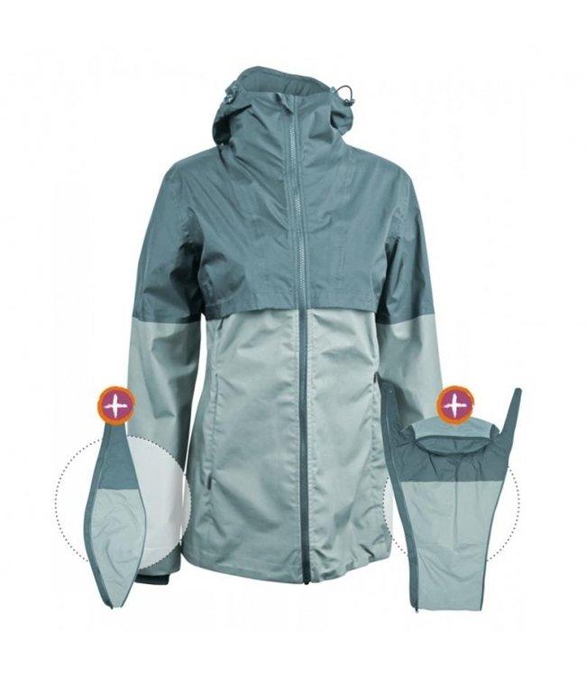 Mamalila Veste de portage - veste de grossesse - veste de pluie Mamalila BIO