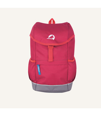 Finkid Finkid -  REPPU - Kinder Outdoor Rucksack - persianred/red