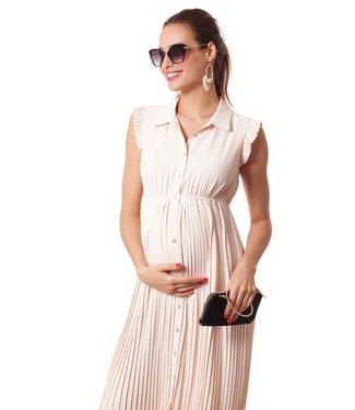 Pomkin Paris Pomkin Paris - Dress Beatriz - Robe d'allaitement et de maternité - nude