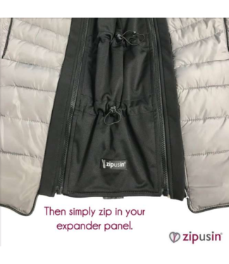 Zip Us In Zip Us In Jackeneinsatz UNIVERSAL - Jackenerweiterung universal Tragepanel