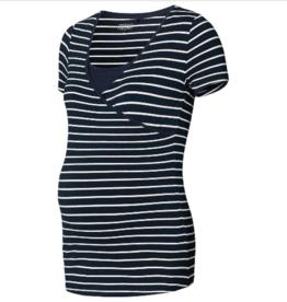 Noppies Noppies - Still-Shirt Lely YD - navy/weiss gestreift