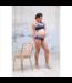 Cache Coeur Soutien-gorge allaitement et maternité cache coeur Serena - bleu
