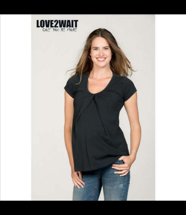 love2wait Still- und Umstands-Shirt - bio