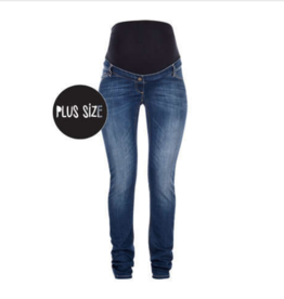 love2wait Jeans Sophia - stone wash - extra gross am Bauch