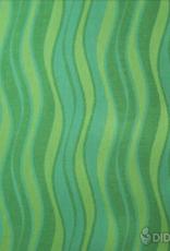 Babytragetuch Wellen lind - Grösse 7