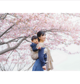 Babytragetuch Kirschblüte Yumemi - Grösse 5