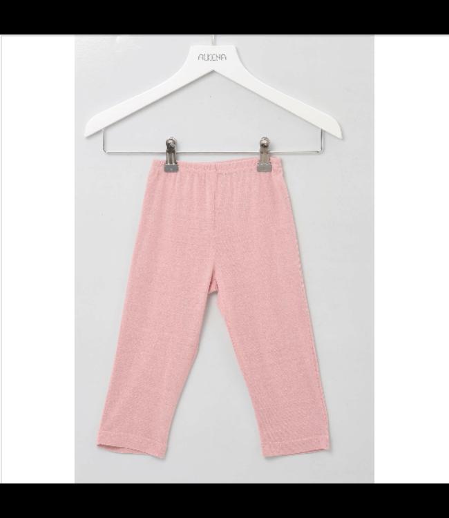 Alkena Alkena - Pantalon en soie Bourrette - rose