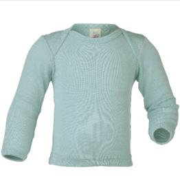 Engel Engel - Baby-Schlupfhemd - Wolle/Seide - langarm, Feinripp