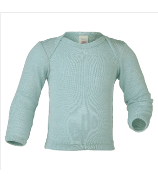 Engel Natur Engel - Baby-Schlupfhemd - Wolle/Seide - langarm, Feinripp