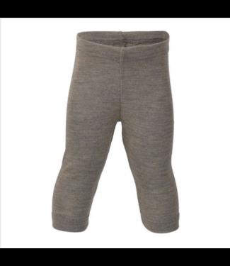 Engel Natur Engel Natur - Baby-Leggings Wolle/Seide, Feinripp - walnuss