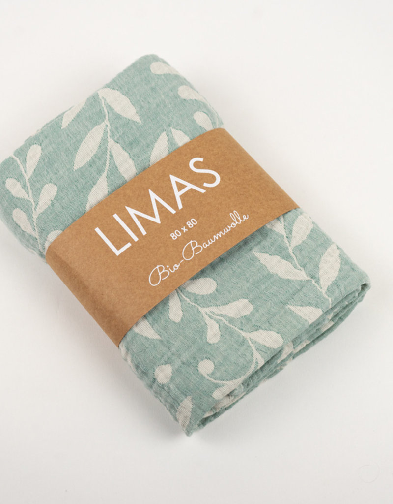 Limas LIMAS Musselin Tuch - Flora Mint