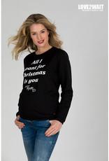love2wait Sweater X-Mas Baby