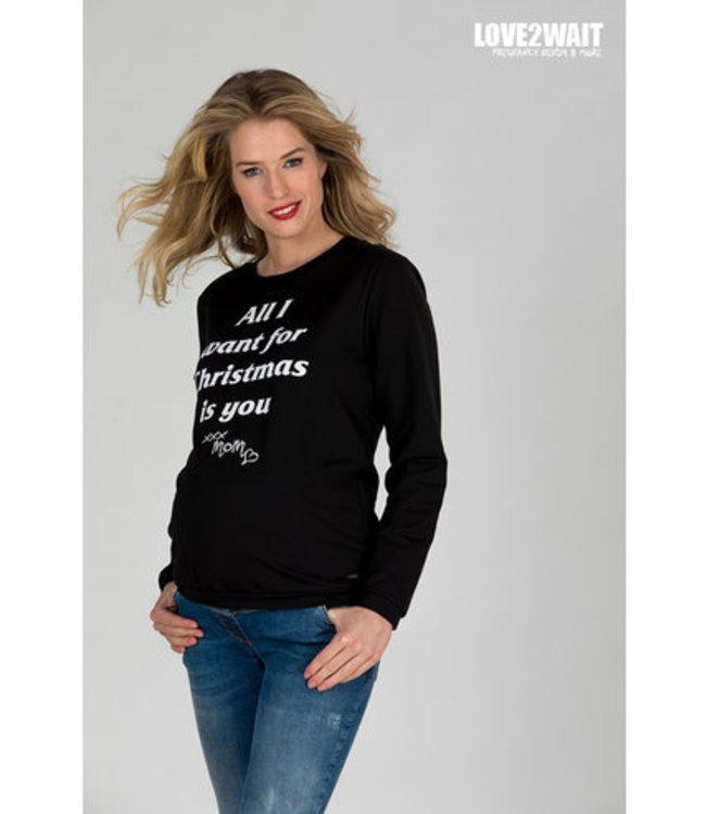 love2wait Love2wait - Sweater X-Mas Baby - Weihnachtspullover