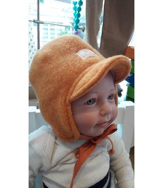 Pick a Pooh Bonnet - Pick a Pooh - polaire de laine - orange