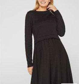 Esprit Esprit - Still- und Umstandskleid - schwarz