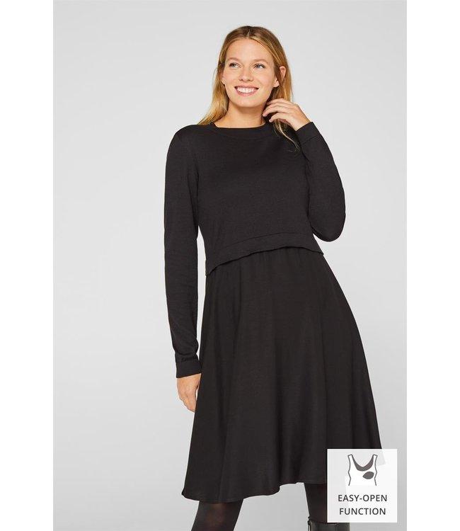 ESPRIT Esprit - Robe d'allaitement et de maternité - noir