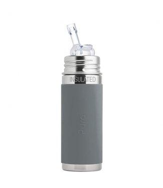 PURA PURA Trinkhalm Isolierflasche - 260 ml