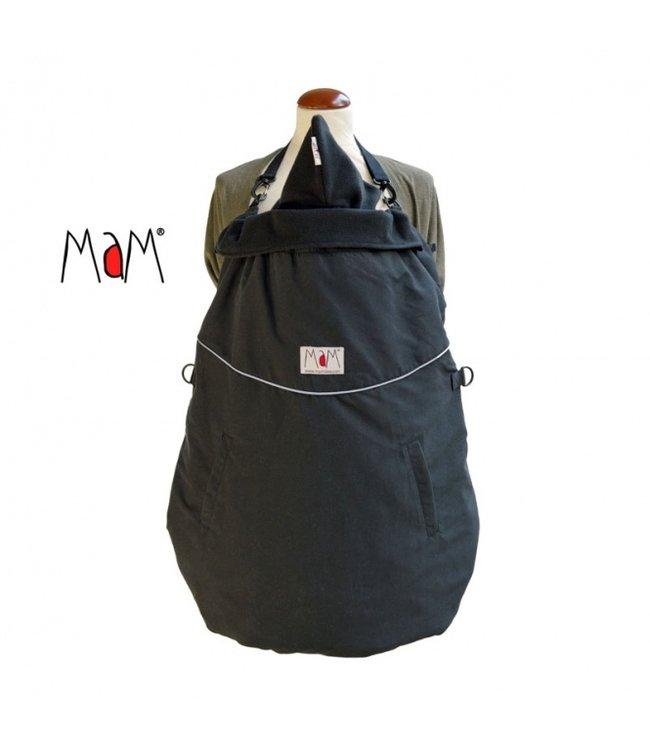 Manymonths MaM Deluxe FLeX Cover Black - Housse de transport porte-bébé
