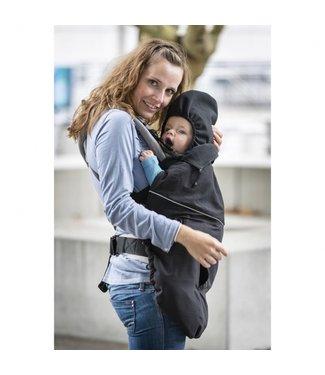 Manymonths MaM Deluxe FLeX Cover Black - Tragecover Babytragen