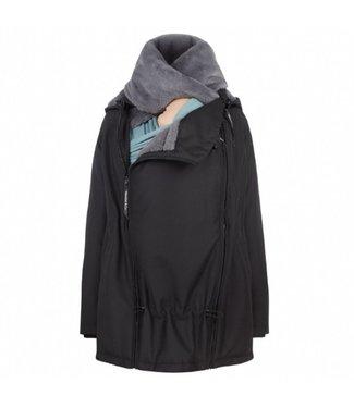Wombat Veste de portage - veste de grossesse - Wombat Wallaby 2.0 - noir / gris