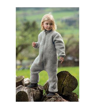 Engel Natur Salopette enfant avec fermeture éclair - polaire de laine