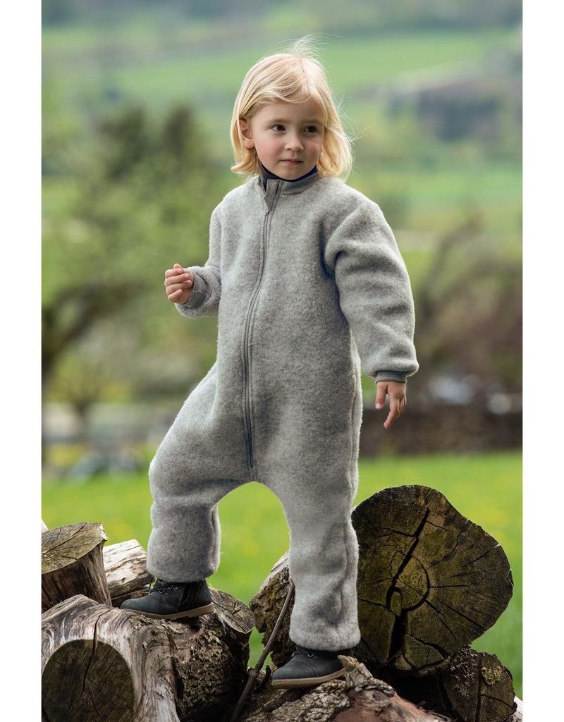 Engel Natur Engel Natur -  Kinder-Overall mit Reißverschluss - Wollfleece