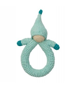 Hoppa Jouets bébé - Hoppa hochet doll blue
