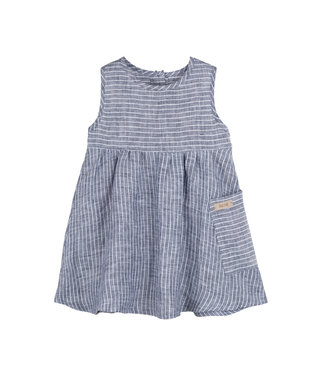 Pure Pure (By Bauer) Pure Pure - Leinenkleid - marine/sand