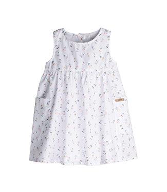Pure Pure (By Bauer) Pure Pure - mini robe - blanc avec cerises