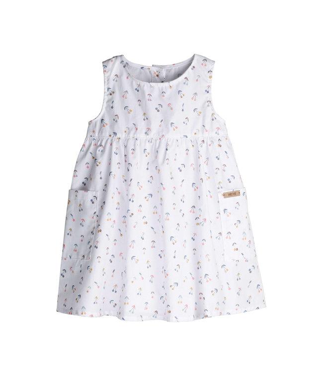 -Pure Pure- by Bauer Pure Pure - Mini-Kleid - weiss mit Kirschen