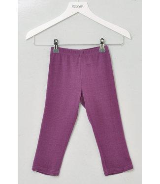 Alkena Französisch  Pantalon soie Alkena Bourette - Violet