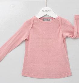 Alkena Alkena - Schlupfhemd - Bouretteseide - langarm - rosa