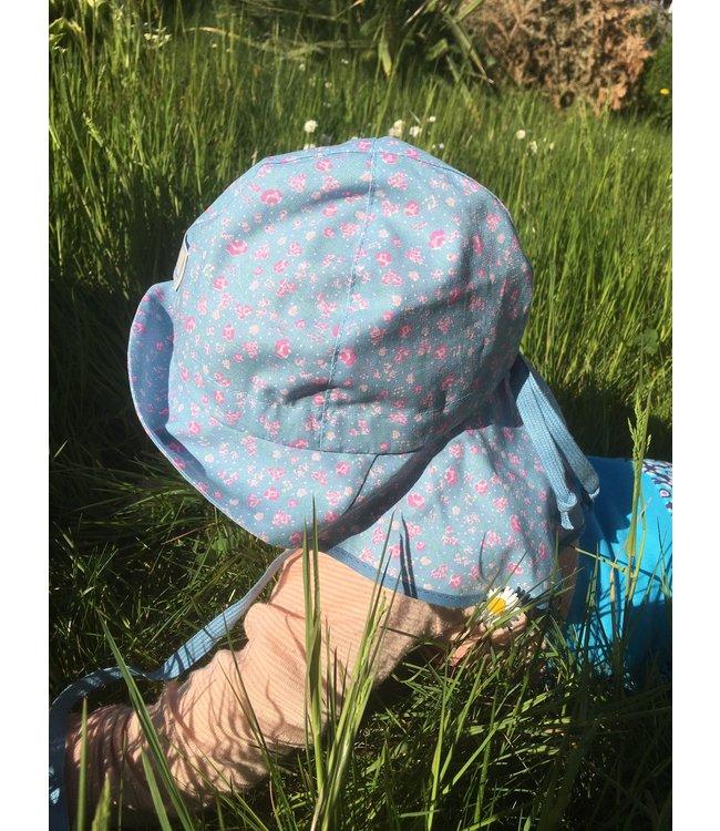 Pick a Pooh Pick a Pooh - chapeau de soleil - maille pompiers - fleurs