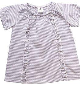 Müsli Müsli Denmark - Mädchen T-Shirt - blau/weiss gestreift