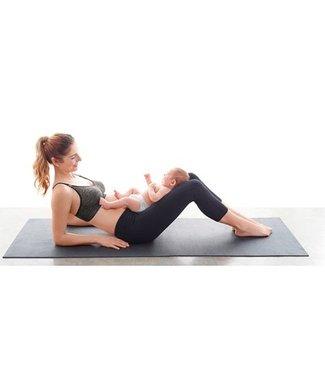 Bravado! Bravado! Body Silk Seamless Yoga - Still- und Umstands BH - Nahtloser Still-/Sport-BH - dunkelgrau meliert