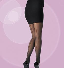 Cache Coeur Cache Coeur - Umstandsstrumpfhose 30 DEN - Couture - schwarz