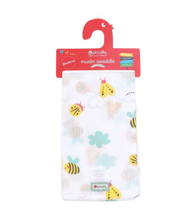 piccalilly piccalilly - couverture en mousseline, serviette à langer/allaitement - Little Wings