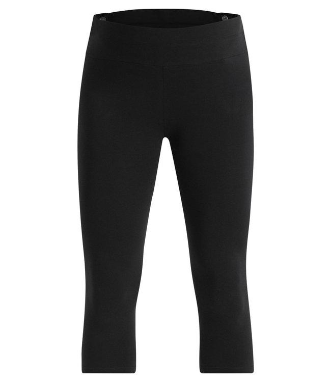 ESPRIT Esprit - Legging capri de maternité- avec coton bio - noir