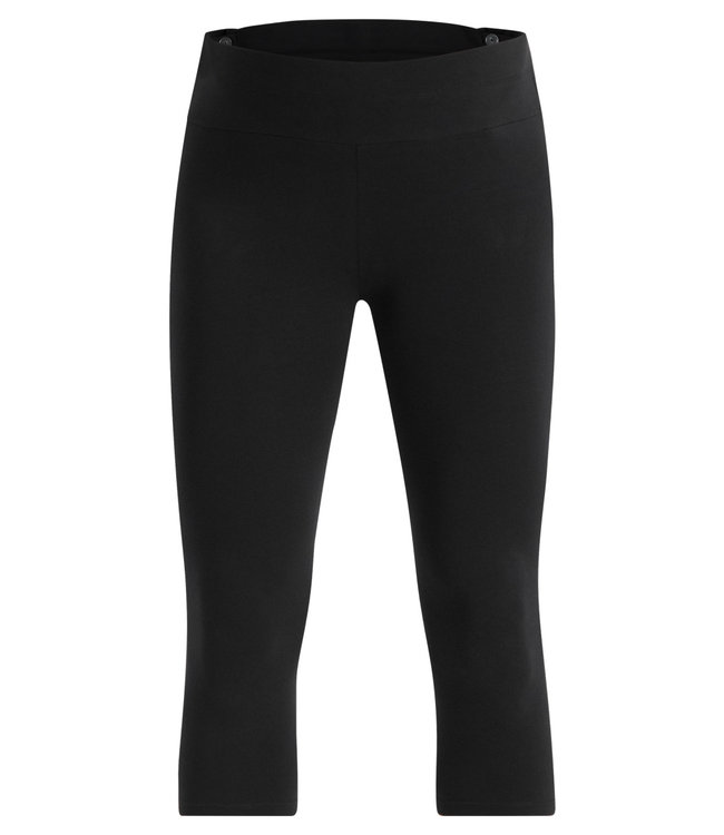 ESPRIT Esprit - Umstands-Capri Legging - mit Biobaumwolle - schwarz